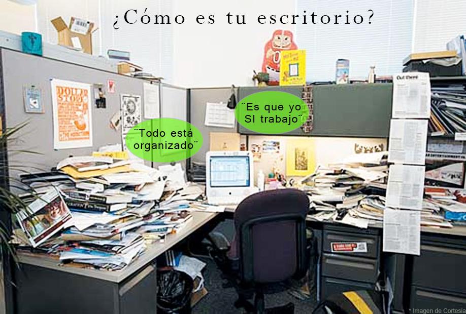 Como es tu escritorio