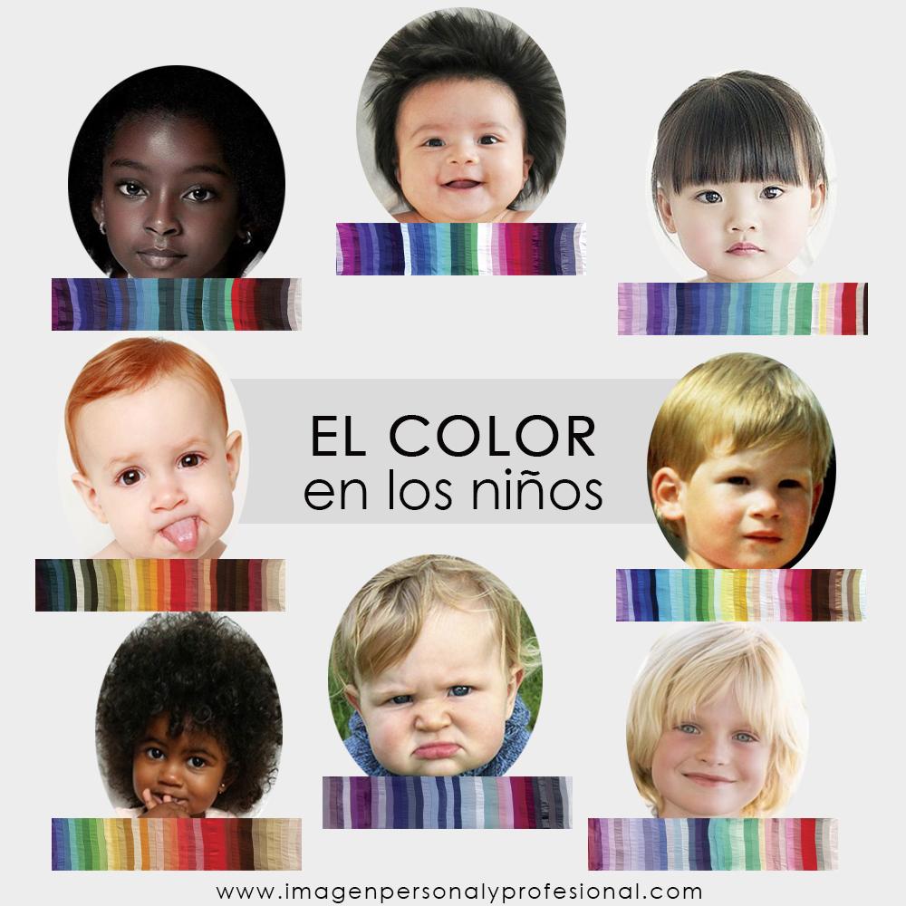 colorimetria de niños